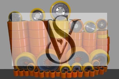 Восстановление колёс и роликов полиуретаном